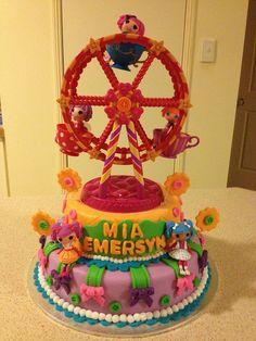 Lalaloopsy Ferris Wheel Birthday Cake by PortersPartyCakes, via Flickr