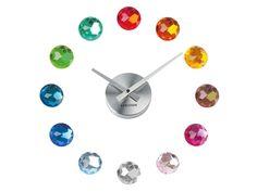 Jewelled wall clock.