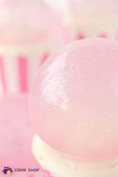 bulles de gélatine cook shop le blog #gelatin #cakedesign #cupcake