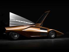1970Bertone Lancia Stratos Zero Concept