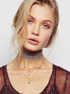 Product Image: Alexandria Draped Lace Choker