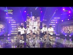 [HIT] 뮤직뱅크 -  방탄소년단 'I NEED U' 격정적인 칼군무. 20150508