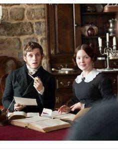 Jamie Bell (St John Rivers) and Holliday Grainger (Diana Rivers) - Jane Eyre (2011) #charlottebronte #caryfukunaga