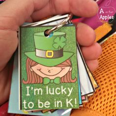 Brag Tags for St. Patrick's Day {FREEBIE} for Pre-K through 5th grade