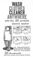 Ami Portable Electric Washer 1958 Ad Picture