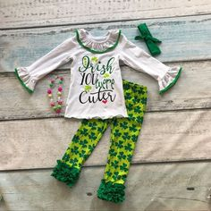 St Patrick's Day clothing girls Shamrock outfits children Shamrock pant with accessoreis  #love #outfit #nonnie #etsy #trendykids #entrepenuer #easterbunny #dresses #fleek #beautiful #summer #grandma #hardwork #babycouture #newarrival #love #outfit #nonnie #etsy #trendykids #entrepenuer #easterbunny #dresses #fleek #beautiful #summer #grandma #hardwork #babycouture #newarrival