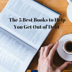 The 5 Best Books to Help You Get Out of Debt (And My Big Book Announcement)