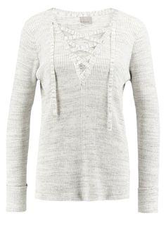 Vero Moda VMLUDWIG Strickpullover light grey melange Bekleidung bei Zalando.de | Material Oberstoff: 60% Baumwolle, 40% Polyester | Bekleidung jetzt versandkostenfrei bei Zalando.de bestellen!