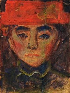 Edvard Munch (1863 - 1944) Portrait Study