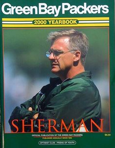 Coach Mike Sherman - (2000 Packers Yearbook)