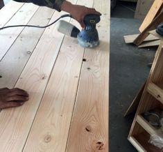 Beginner Farm Table (2 Tools + $50 Lumber) | Ana White Diy Outdoor Table, Diy Dining Table, Diy Outdoor Furniture, Diy Furniture Plans, Rustic Table, Diy Patio, Patio Table, Picnic Table, Outdoor Dining