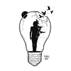Bird Skull Tattoo, Swallow Bird Tattoos, Feather Tattoos, Bird Drawings, Tattoo Drawings, Freedom Bird Tattoos, Crane, Freedom Drawing, Artwork Lighting