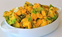 Patty Pan Squash Kissed W/ Garlic and Dill    (For me, I will sub another herb -- not a dill fan)