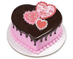 Valentine's Day Printed Gum Paste Hearts