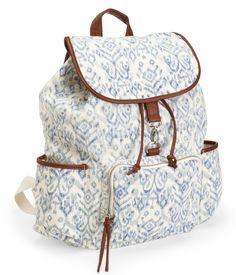No longer available-- but cute sack!  Ikat Backpack from Aeropostale