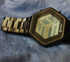 3D Unlimited LCD Watch