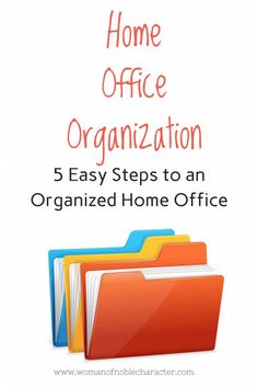 home office organization how to How to organize your home office including setting up file systems that work for you and your family plus tips on mail and printing stations. your home office Diy Organisation, Home File Organization, Office Organization At Work, Organizing Paperwork, Organizing Your Home, Organizing Tips, Office Set, Cleaning Tips, Clutter Organization
