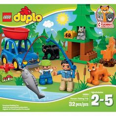 LEGO DUPLO Town Forest: Fishing Trip - Walmart.com