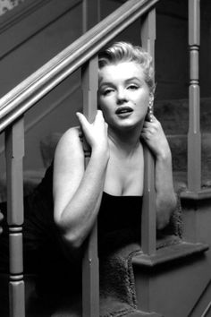 At a press party in her home on March 3, 1956.