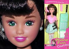 Barbie Skipper, Barbie Dolls, Best Phone, Barbie Collector, Cute Dolls, Fashion Dolls, Nostalgia, Teen, Friends