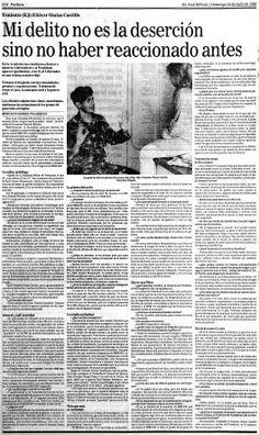 Entrevista a Eliézer Otaiza por Berenice Gómez. Publicado el 26 de julio de 1992.