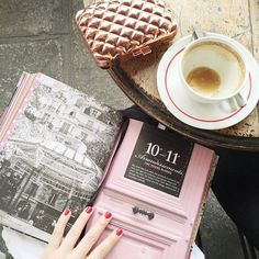 Parisian Coffee Stops with Making Magique | Shop the Story at Fashiolista.com