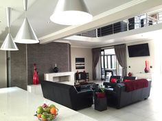 Four bedroom house for sale in Clearwater Estate, Boksburg. This house has four living areas, four bathrooms and two garages. Web Dashboard, Vacant Land, Classic Architecture, Private Property, 4 Bedroom House, Pent House, Garages, Living Area, Townhouse