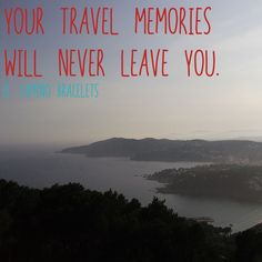 """Your travel memories will never leave you."" - El Camino Bracelets. ... 🌏✈️😊 ... All El Camino products are available from www.elcaminobracelets.com ... #elcaminob #elcaminobracelets #jewellery #jewelry #fashion #etsy #giftideas #handmade #epiconetsy #shopping #travelmemories #adventure #vacation #ttot #beauty #style #explore #holiday #travel #traveller #travelling #luxury #trip #bracelet #beach #boho #bohemian #hippy #travelgram #instatravel"