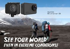 MGCOOL Explorer 3 4K Action Camera Expected to launch with Dual Channel Audio, also comes with 2-inch touch display, plastic+metal body, 170° Wide Angle, 4K UHD.