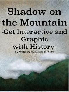 In honor of a visiting Author in April, Margi Preus, Wake Up Sunshine is bringing her epic Historical Fiction novel, Shadow on the Mountain to life. This engaging, thought-provoking, and affordable literary guide is filled to the brim with creative ideas