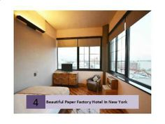 Condé Nast Traveler: New York - The Paper Factory Hotel in Long Island City, Queens