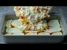Ne dobd el a száraz kenyeret. El sem hiszed milyen finomat készíthetsz belőle! - YouTube Serbian Recipes, Romanian Food, Pain, Food Videos, Bread Recipes, Quiche, Muffins, Toast, Cooking