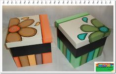 Pinceladas al aire: Cajas Diy And Crafts, Arts And Crafts, Newspaper Crafts, Painted Chairs, Country Primitive, Wooden Boxes, Painting On Wood, Wood Art, Decoupage