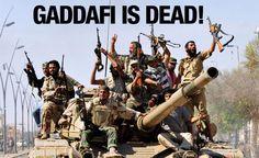 Libyan Dictator Muammar Gaddafi is Dead – Jewlicious THE Jewish Blog