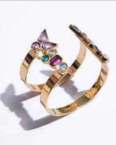 Colorful Jeweled Cuff