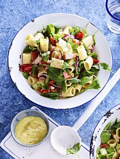 Cooking Recipes, Healthy Recipes, Happy Foods, Cobb Salad, Feta, Chicken Recipes, Food And Drink, Veggies, Yummy Food