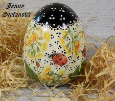 Decoupage by Jenny Stefanova Easter Eggs, Decoupage, Christmas Bulbs, Holiday Decor, Home Decor, Decoration Home, Christmas Light Bulbs, Room Decor, Home Interior Design