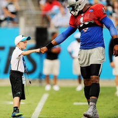 Braylon Beam has 'the best day ever' as honorary Panthers coach