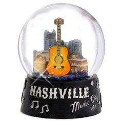 Amazon.com: Nashville Snow Globe, Music City USA 65mm Snow Globes, Tennessee Gift Collection: Home & Kitchen