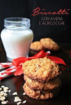 Letizia in Cucina: Biscotti con avena e albicocche