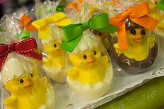 Pollitos de Chocolate para la Pascua