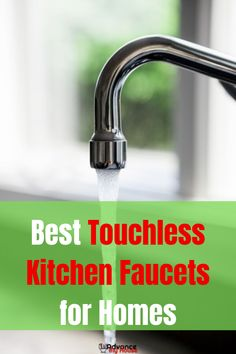 If what you are looking for is a touchless Kitchen faucet that combines functionality and elegance, then you need to consider the KOHLER Sensate Touchless Kitchen Faucet. This model not only looks great but works even better than most other top choices. Touchless Kitchen Faucet, Kitchen Faucet With Sprayer, Kitchen Faucet Reviews, Best Kitchen Faucets, Pull Out Kitchen Faucet, Bathroom Sink Faucets, Luxury Kitchen Design, Best Kitchen Designs, Martha Stewart