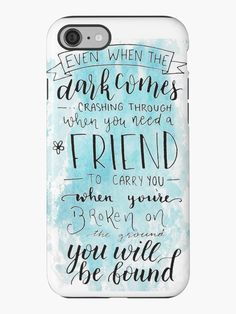 """""""You Will Be Found- DEH"""" iPhone Cases & Skins by bwaycalligraphy 