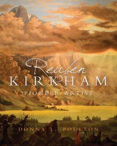 Reuben Kirkham by Donna L. Poulton. Nonfiction Art Book. Book Cover.