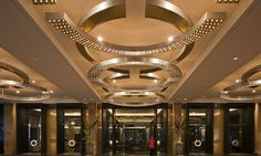 Crown Towers Eastern Entry lighting design by Electrolight