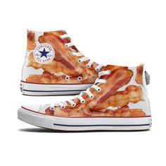 fbbf92fb3e25 Bacon Converse Chucks High Tops