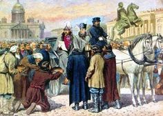 1723 - RUSSIA ABOLISH SLAVERY - Slavery abolished in Russia. Peter the Great converted the household slaves into house serfs.