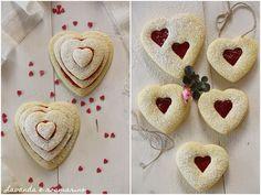 Lavanda e rosmarino: Biscotti di San Valentino