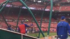 The World Champs are taking BP ahead of Chicago Cubs-St. Louis Cardinals on ESPN at 8:30 PM ET.