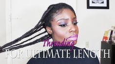 How To: Threading 4C Hair For Ultimate Length [Video] - http://community.blackhairinformation.com/video-gallery/natural-hair-videos/how-to-threading-4c-hair-for-ultimate-length-video